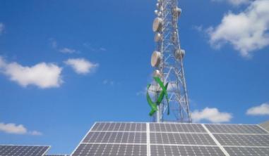Wind Turbine With Solar Panel